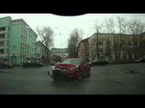 Авария г. Мурманск 20.04.2013