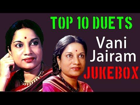 Top 10 Duets Of Vani Jairam | Tamil Movie Audio Jukebox video