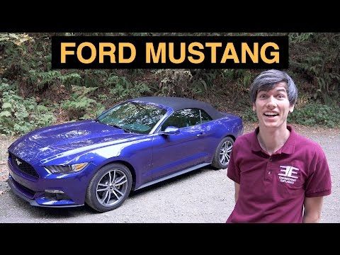 2015 Ford Mustang EcoBoost - 4 Cylinder Muscle Car?