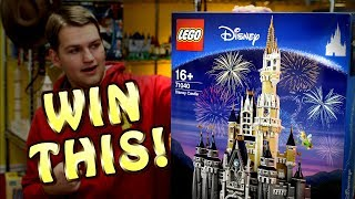 250,000 SUBSCRIBERS! LEGO Disney Castle Giveaway