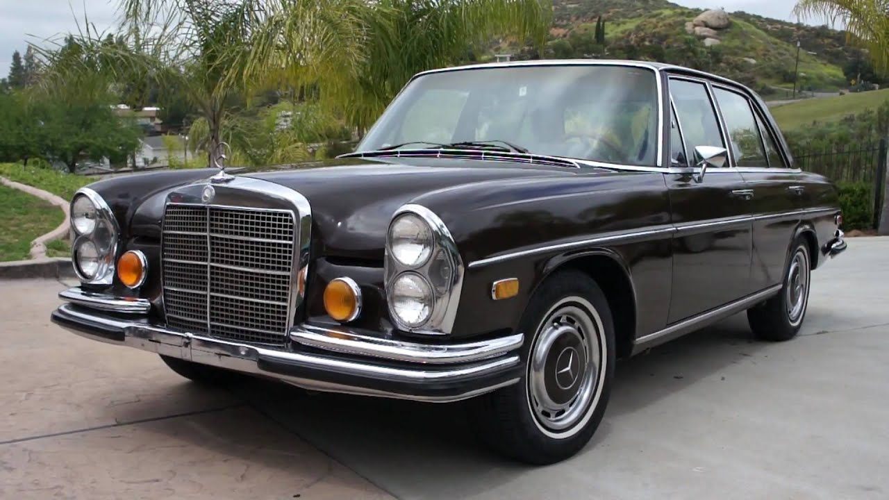 1972 mercedes benz 280se 4 5 w108 clean runner w109 youtube for 1972 mercedes benz