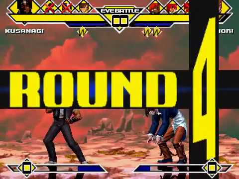 Team Kyo vs. Team Iori