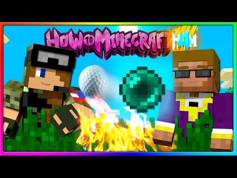 Minecraft - Ender Pearl Golf Event! | Episode 68 of H4M (How to Minecraft Season 4)