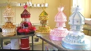 CAKE DECORATING ROYAL ICING CAROUSEL CHRISTENING CAKES & HOW TO MAKE A QUICK FONDANT TEDDY BEAR