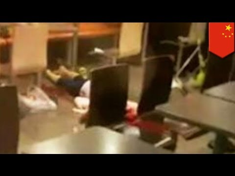 Cult Members Beat Woman To Death At Mcdonald's In China While Crowd Watches video