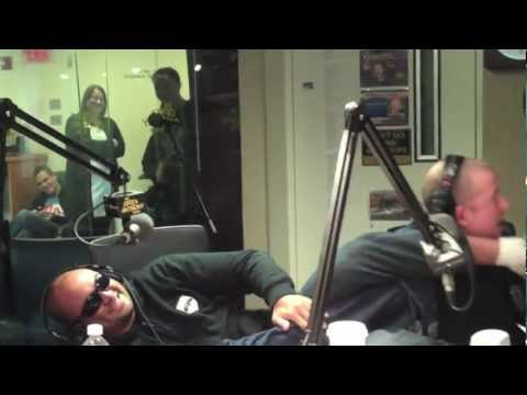 Jim Norton HURT by 12 MMA Fighters - @OpieRadio