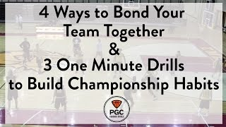 4 Ways to Build Culture & 3 One Minute Drills   Week 4   PGC Coaches Circle   Powered by TeamSnap