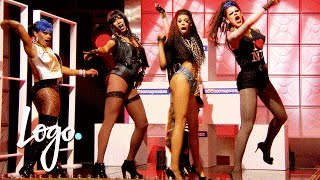 RuPaul's Drag Race (Season 8 Ep.2) | 'Perfect' Drag-Appella Sing Off!! | Logo