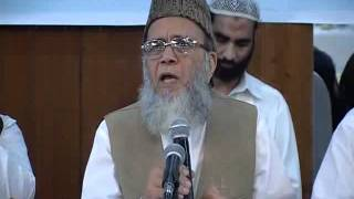Syed Munawar Hasan Addressing Ittehad e Ummat Conference In Lahore -  24 Sep 2011