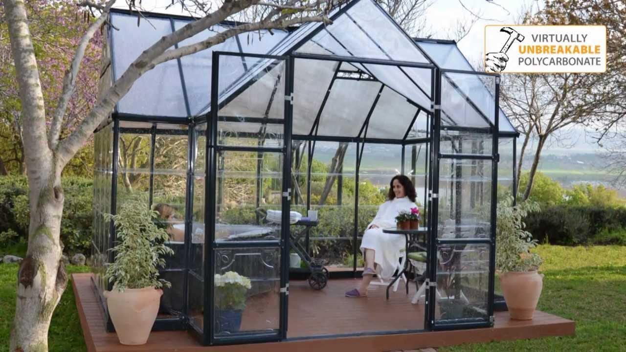 Palram Greenhouse Victory Orangery Garden Chalet Youtube