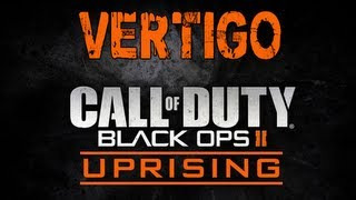 Black Ops 2 Uprising DLC Map Pack Gameplay - Vertigo (Live Commentary)