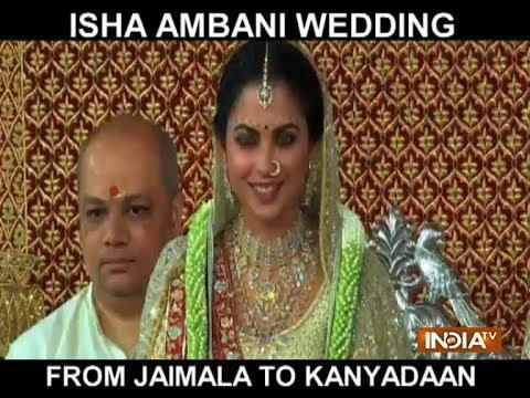 Jaimala to Kanyadaan: Have a look at Isha Ambani's wedding ceremony thumbnail