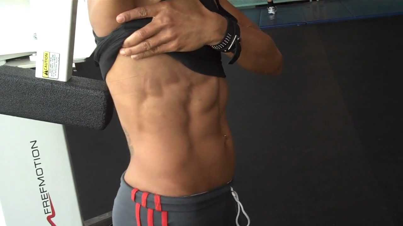 Shredded abs, Amazing body, Natural Female Athlete ...