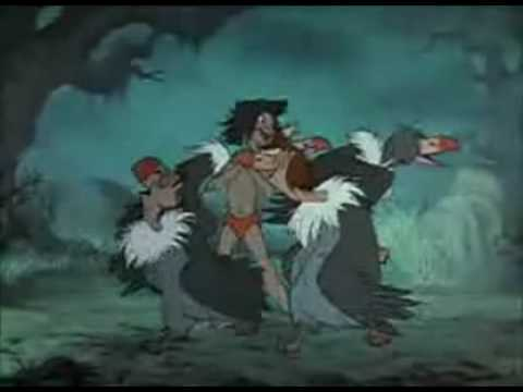 Le livre de la jungle les vautours c 39 est ca l 39 amiti youtube - Dessin livre de la jungle ...
