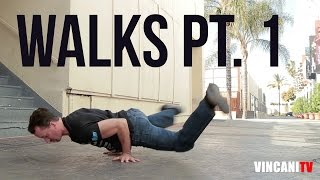 Nauka Breakdance | Walks Part 1-Basics | Kujo (Soul Control / Ill Abilities)