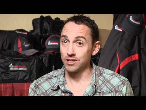 Adam Goucher Foot Locker Alum before Foot Locker Championships 2011