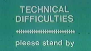 WCAE Channel 50 - 3-2-1 Contact (Technical Difficulties Moment, 1980)
