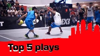 Top 5 Plays - 2014 FIBA 3x3 World Tour - Manila Masters