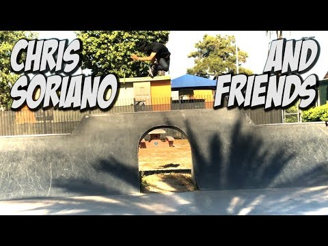 SKATING WITH CHRIS SORIANO, JOEL PEREZ & FRIENDS !!! - NKA VIDS -