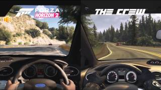 Forza Horizon 2 Vs The Crew Ford Focus RS