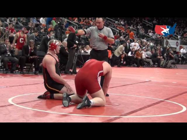 Buccholz (MD) dec. Longendyke (NE), 285 lbs. at 2012 Grapple at the Garden