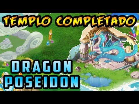 Templo de Poseidon Completado - Dragón Poseidon - Dragón City