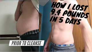 Juice Cleanse - Detox Your Body (Lose Weight Fast) With Only Two Juices - Learn How I Lost 9.4 lbs