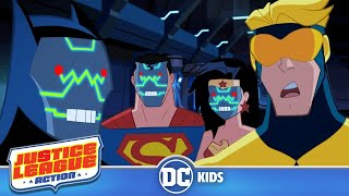 Justice League Action | Robot Rumble | DC Kids