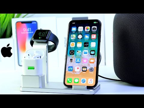 Charge Your iPhone, Apple Watch & AirPods All at once | Apple Products Charging Station