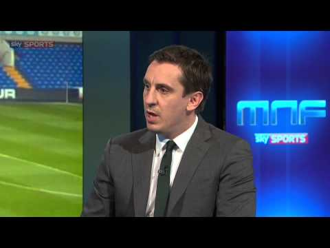 Gary Neville questions Tottenham's approach to managers