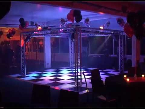 Small Mobile Nightclub Set Up For Hire Youtube