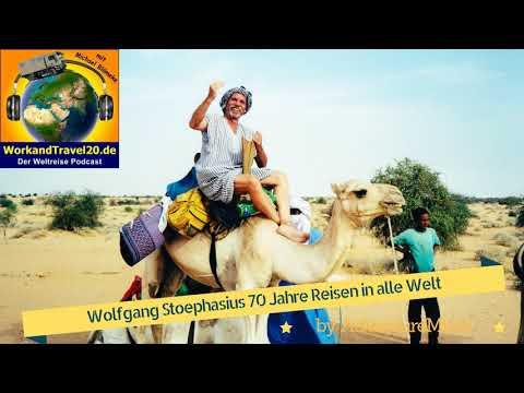 Wolfgang Stoephasius der meistgereiste Deutsche und 70 Jahre Reisen in alle Welt