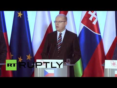 """Poland: The Visegrad group calls for a """"common European army"""""""