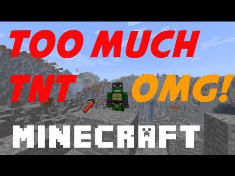 Minecraft Mod Showcase: TOO MUCH TNT!!!