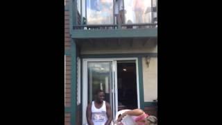 Omari & Luvia ALS ice bucket challenge