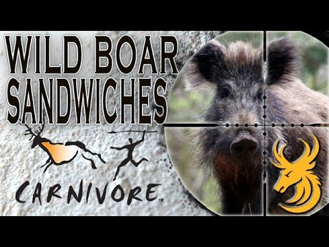 Wild Boar Hunting And How To Cook Wild Boar Sandwiches - video chasse au sanglier