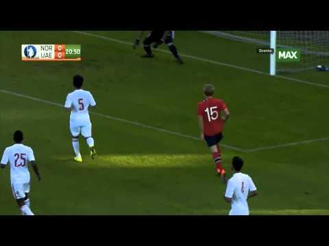 Martin Ødegaard vs UAE || NT debut 2014