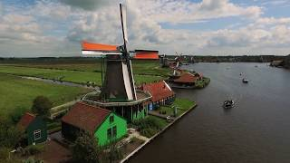 Zaanse Schans, Holland - Drone