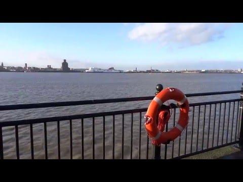 Liverpool Albert Dock Love Locks, River Mersey Ferry