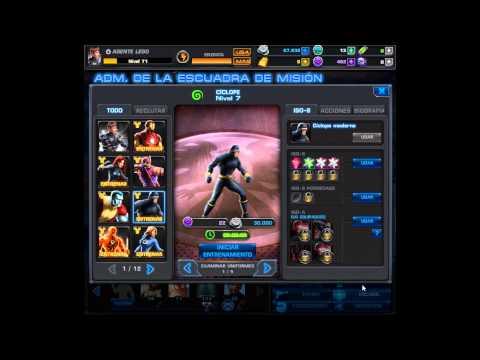 mis 10 personajes favoritos de marvel avengers alliance y poderosos