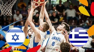 LIVE 🔴 - Israel v Greece - FIBA U20 European Championship 2018
