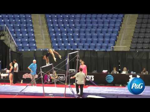 Gabby Douglas - Uneven Bars - 2016 P&G Gymnastics Championships - Podium Training