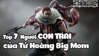 Top 7 Người Con Trai Của Big Mom Trong One Piece | Bình Luận Bựa #23