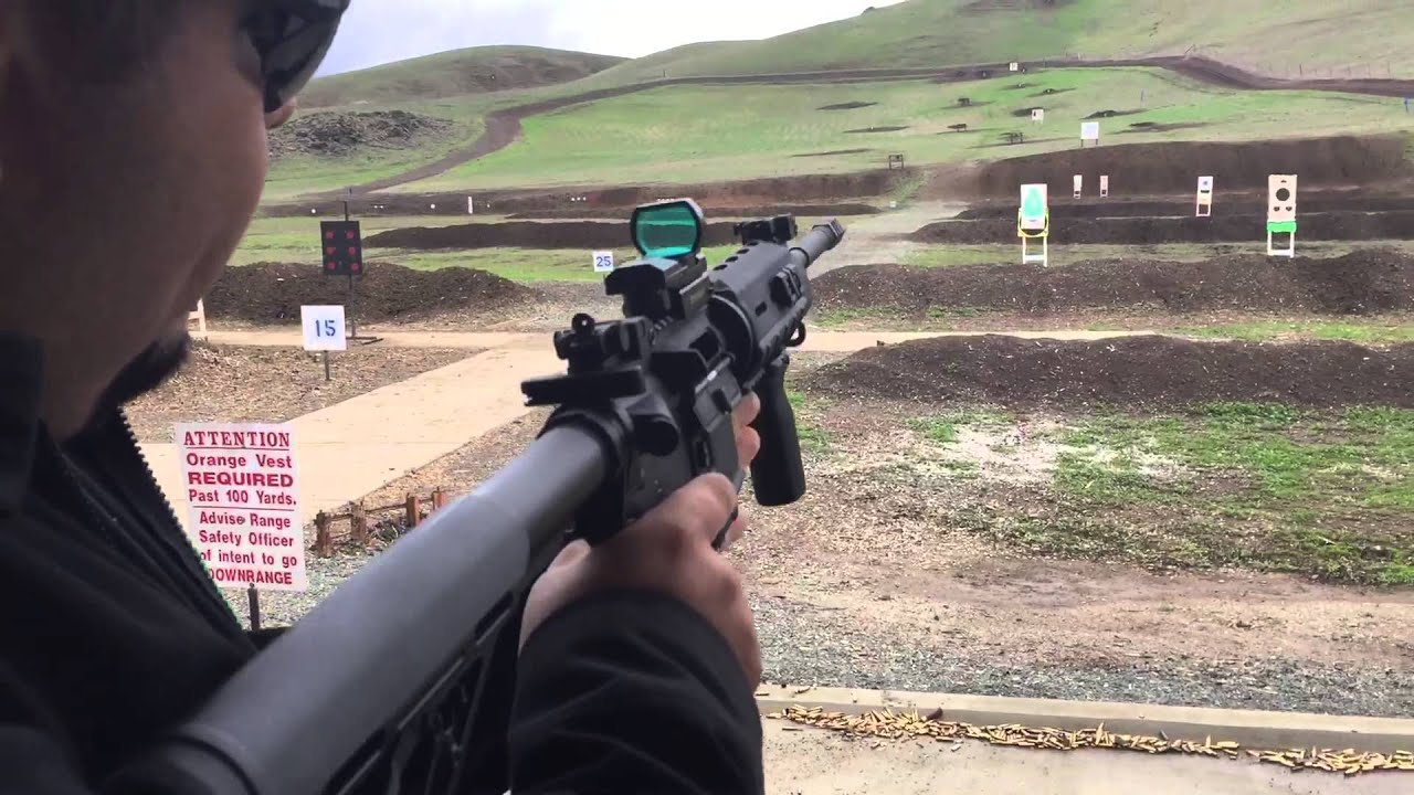 Gun Range Shooting Ar Youtube