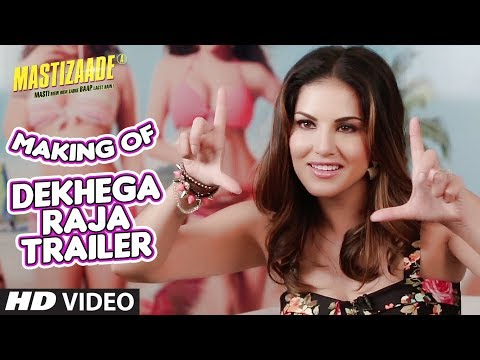 Dekhega Raja Trailer MAKING VIDEO | Mastizaade | Sunny Leone, Tusshar Kapoor, Vir Das