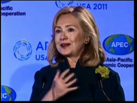 Secretary Clinton Delivers Keynote Remarks at the Women and the Economy Summit