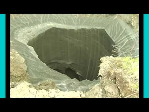 Siberian 'mystery Crater' Solved! A Closer Look, Deep Within The Hole! video