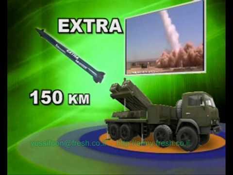 IMI LYNX Rockets Launcher לינקס משגר רקטות וטילים