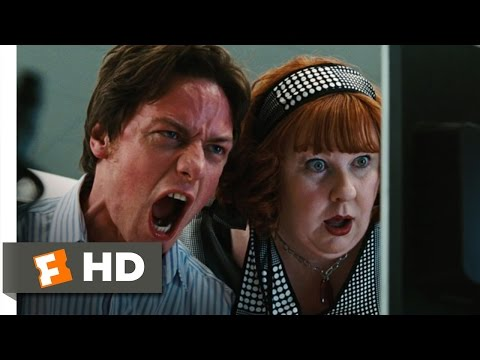 Wanted Movie Clip - watch all clips http://j.mp/wwBPxH click to subscribe http://j.mp/sNDUs5 Wesley (James McAvoy) reaches his limit in the office and tells ...