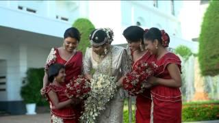 Malinga + Kanchana Srilankan Wedding trailer 2014